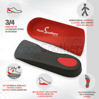 FootSoothers™ R3D 3/4 Orthotic Insoles Arch Support Inserts Fallen Arches Flat