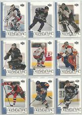 99/00 UD Reserve Hockey Complete Set Base #1-88 w/ 6 Rookie Cards RC's!