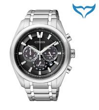 Citizen Super Titanium Chrono Herren Armbanduhr CA4010-58E Saphir Eco-Drive NEU