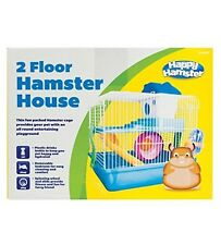 Happy Hamster - 2 Floor Hamster House Pink