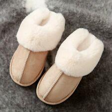 Women Faux Fur Slippers Female Winter Shoes Home Slipper Indoor Warm Cotton Shoe
