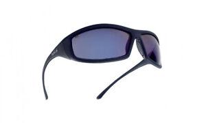 Bolle Solis SOLIFLASH Safety Glasses Protection Non Slip Bridge Blue Flash