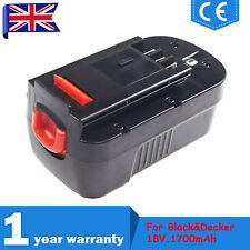 18V 1.7Ah Battery For BLACK AND DECKER B & D GLC2500 Cordless Strimmer A1718 UK