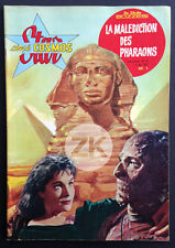 THE MUMMY Fisher HAMMER Malédiction des Pharaons C. LEE Photoplay + Photo 1959
