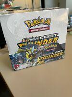 "Sun & Moon ""LOST THUNDER"" Booster Box Sealed Pokemon TCG - SHIPS FAST"