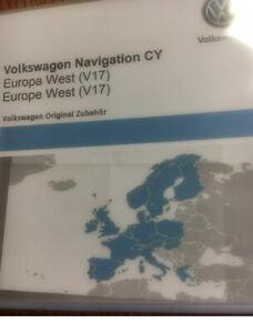 Neu VW RNS510/810 DVD Navigation CY  EUROPA WEST V17 Seat-Mediasystem Skoda 2020
