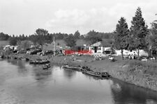 PHOTO  1960 SUSSEX THE RIVERSIDE CAFE AT HOUGHTON BRIDGE FOR MANY YEARS THIS HAS