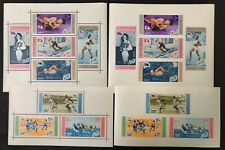 Dominican Republic #505a,C108a Perf & Imperf Sheets 1958 MNH