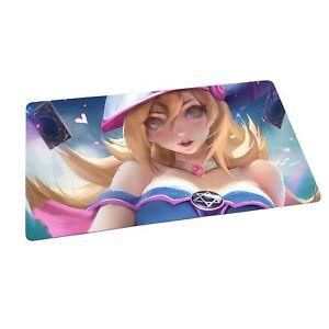 YuGiOh Playmat - Dark Magician Girl - Brand New Custom Mat