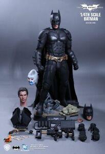 Hot Toys QS001 Dark Knight Rises Batman Quarter Scale Figure NM Authentic 1:4