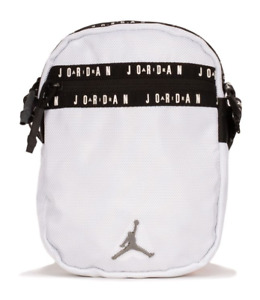 Nike Air Jordan Jumpman Taping Festival Crossbody Bag White Black
