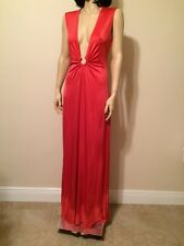 BCBGMaxAzria Red Evening Dress Full Length Size M Brand New w/out Tags