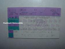 MORRISSEY Concert Ticket Stub 1997 MIAMI BEACH GLEASON THTR The Smiths VERY RARE