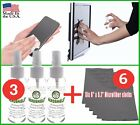 Screen Cleaner Kit- 3 Pack & 6 Microfiber Cloths for Cell Phone/Tablet/Notebook