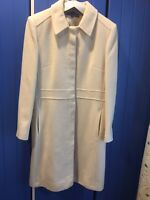 Cream Wool Blend Coat Size 14 Autonomy