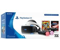 🔥 New Sony PlayStation PS4 VR Virtual Reality Bundle Borderlands 2 & Beat Saber