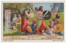 The Birth Of Roman God Jupiter Jove Mythology Rome 80+ Y/O Trade Ad Card