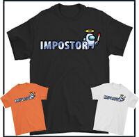 Impostor T-Shirt Parmi US Jeux Joueur Hommes Enfant Garçons Haut Unisexe