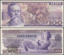 Mexico 100 Pesos, 1978, P-68a, UNC, KT Series
