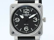 Bell&Ross Aviation Automatic Steel BR01-92  FULL SET