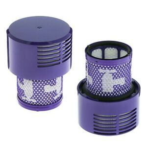 Reusable Washable Filters For DYSON V10 SV12 Cyclone Absolute Total Vacuum 2pcs