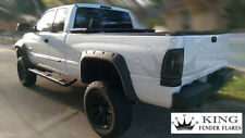 1994 - 2001 DODGE RAM 1500 - POCKET RIVET Bolt-On KING FENDER FLARES – SMOOTH