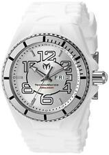 TechnoMarine 115139 Cruise Jellyfish Swiss Quartz White Silicone Mens Watch