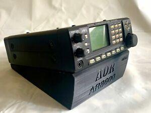 15 Deg - Stand, Riser, Slipper Plate for your AOR AR-8600 Desktop Radio Scanner