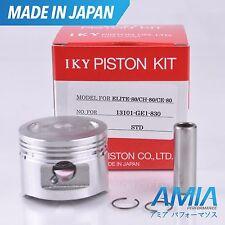 HONDA PISTON KIT CH80 ELITE ALL YEARS 13101-GE1-830 MADE IN JAPAN STOCK
