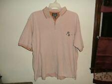 Disney golf collection mens polo shirt embroider golfing mickey XL orange