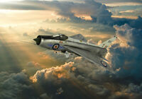 English Electric Lightning RAF canvas print various sizes free delivery