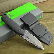 Bushcraft Couteau de Survie Tactical Schrade Acier 8Cr13 Manche G-10 SCHF13
