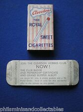 Clevedon ( Blackpool ) Royal Sweet Cigarette Packet    1961