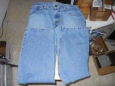 Distressed Levi's Authentics Signature Jeans Mens 29 x 30 Medium Color Denim