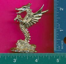 3 wholesale pewter dragon incense holders G7037