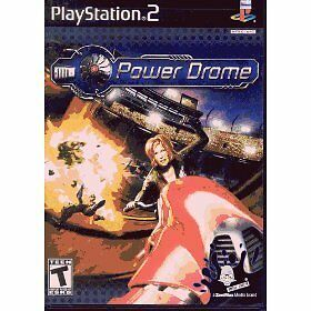 NEW ORIGINAL Play Station 2 Power Drome Racing PS2 PS3 DVD game ONLY Not Play St