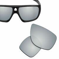 Polarized Replacement Lenses for-OAKLEY Dispatch 1 Sunglasses Silver Titanium