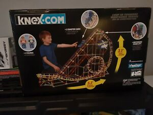 K'nex Thunderbolt Strike Roller Coaster Building Set  *NEW FACTORY SEALED BOX*