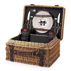 Picnic Time® Mickey & Minnie Mouse Champion Picnic Basket – Disney Classics