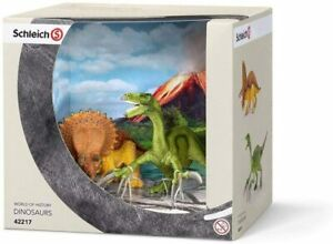 Schleich Dinosaurs Small Triceratops And Thérizinosaure 42217
