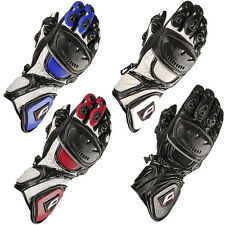 Akito SportMax Leather Racing Motorcycle Gloves