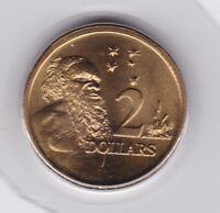 1993 Australia $2 Two Dollar Aboriginal Elder UNC Uncirculated Coin ex UNC Set