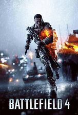 "BATTLEFIELD 4 POSTER 23"" X 34"" GAME PS4 GUN FIGHT MOVIE NEW ART FREE SHIPPING"