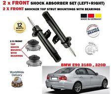 Per BMW 316 318D 320D 2007 - > 2x FRONT SHOCK ABSORBER Set + 2x Strut Kit di montaggio
