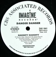 "DANGER DANGER ""NAUGHTY NAUGHTY"" 1989 PROMO VINYL 12"" SINGLE 2 MIXES ~RARE~ HTF"