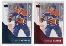 ROOKIE to NOW CONNOR McDAVID INSERTS, PARALLEL'S & SHORT-PRINT  - PICK SINGLES