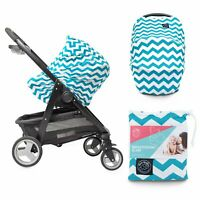 Nursing Cover Multi Use Breastfeeding Scarf Baby Car Seat Cover Shopping Cart Hi
