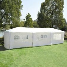 Gazebo Canopy Wedding Party Tent w/ Removable Walls Home yard BBQ 10' x 30'