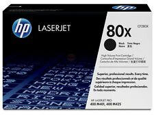 HP Genuine 80X CF280X Black High Yield Toner LJ PRO 400 M425 M401 - 6,900 Pages