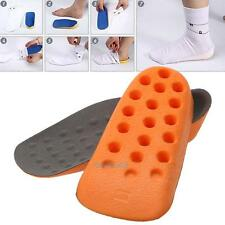 1 Pair Height Increase Insoles In Sock Shoe Pad Insert Heel Cups Foot Care NEW